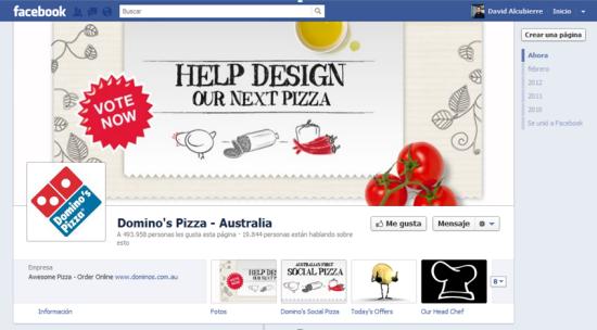 Domino's Pizza Australia (antes)