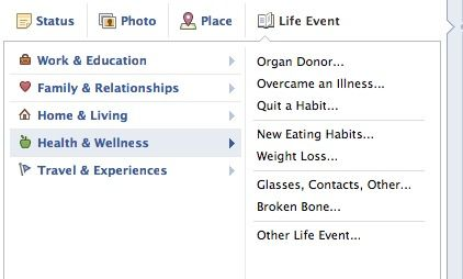 Donación de órganos en facebook