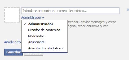 Roles de admin