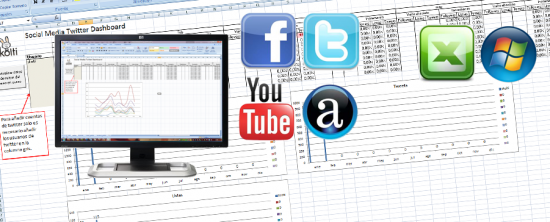 social media excel dashboard