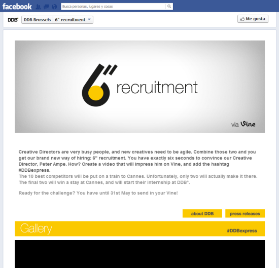 "6""Recruitment DDB Bruselas"