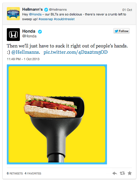 Honda en twitter