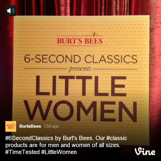 burts bee's