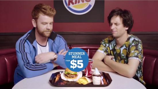 burger king publicidad para jóvenes