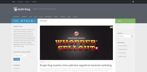nuevo diseño blog skolti