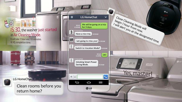 LG, en CES 2014, te invita a chatear con tus electrodomésticos