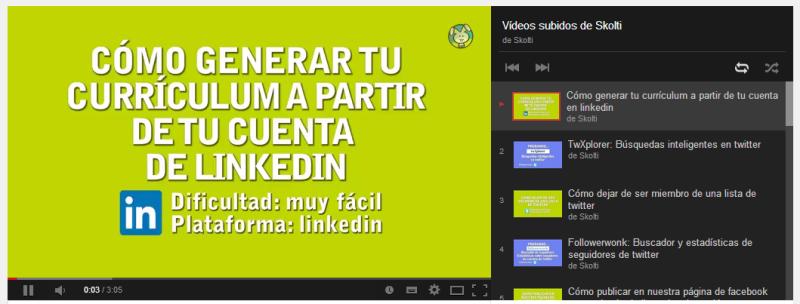 vídeos demanales