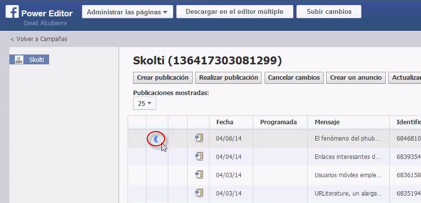 facebook call to action: lista para publicar