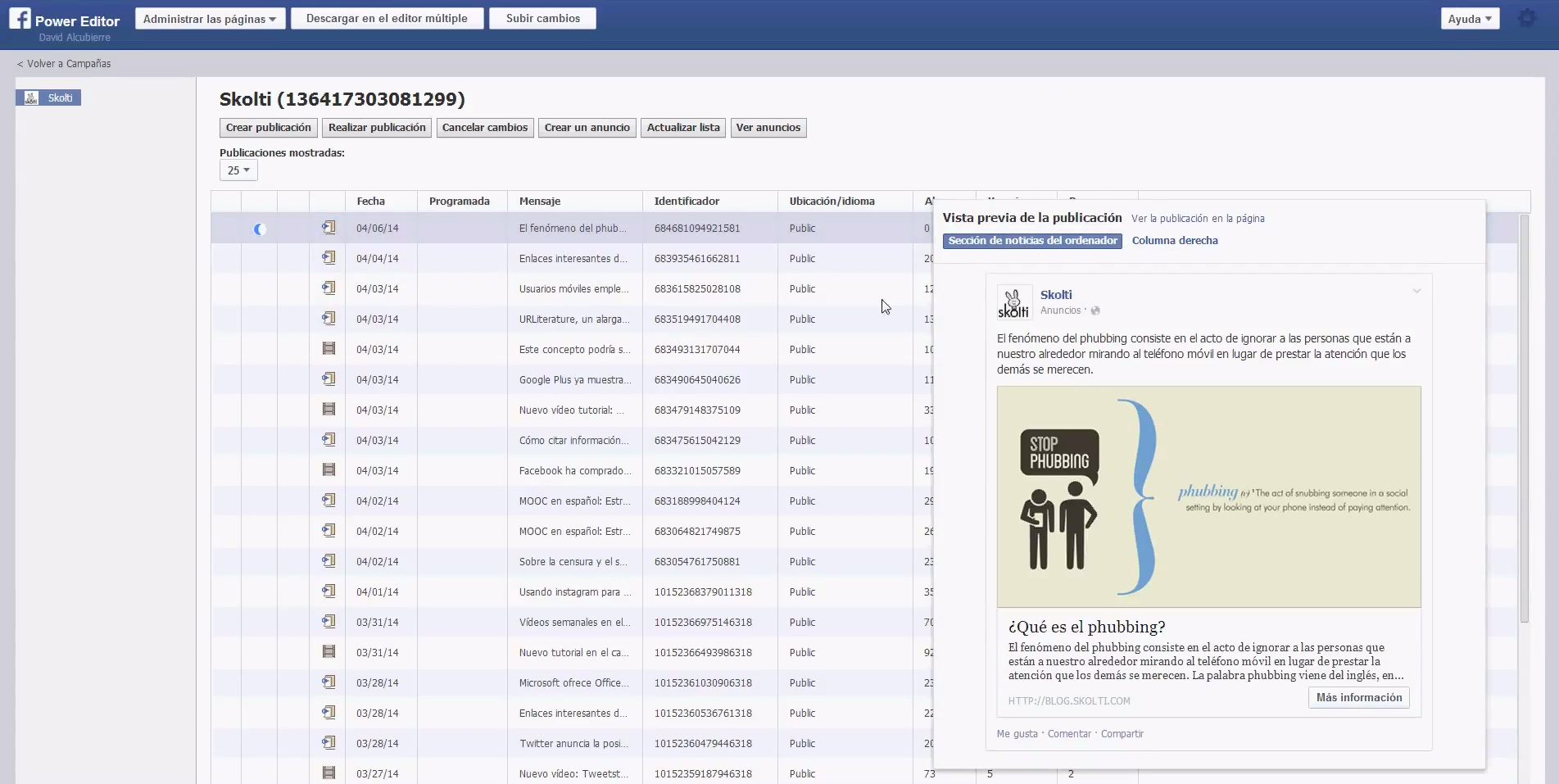 facebook call to action: preview