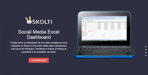 Skolti   Social Media Excel Dashboard