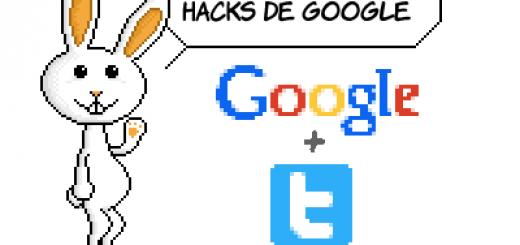Google Hacks con twitter