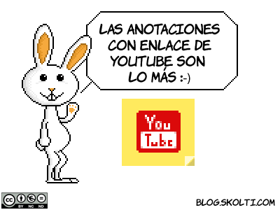 anotaciones de youtube con enlace