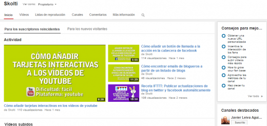Canal de youtube de skolti