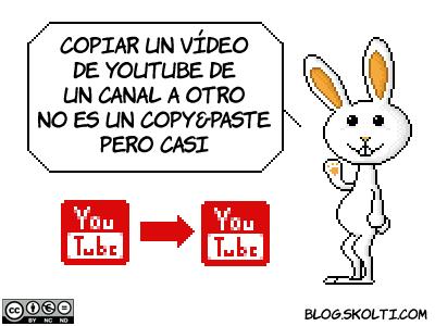 copiar vídeo de youtube