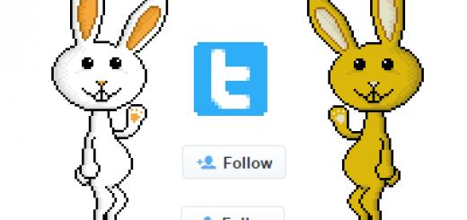 se siguen dos usuarios de twitter