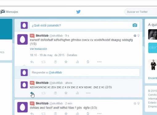 tweet largo
