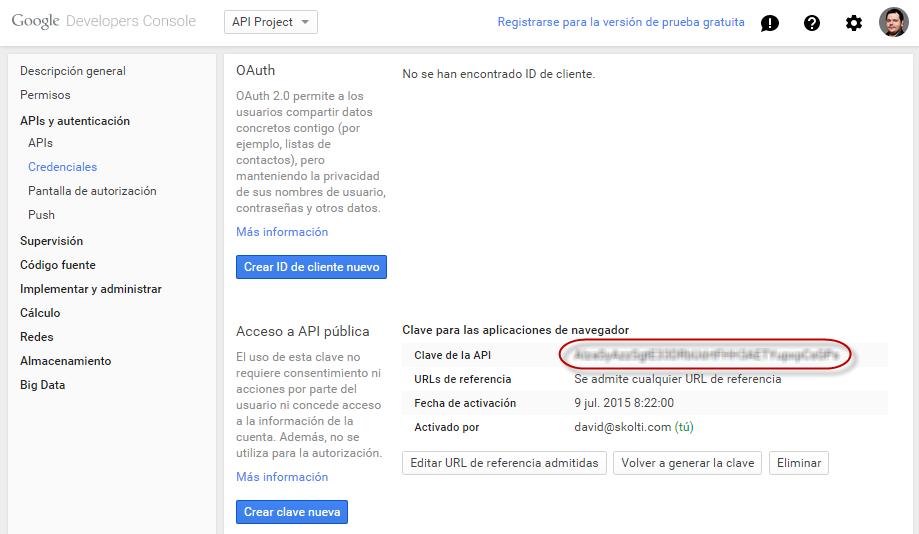 API Key final